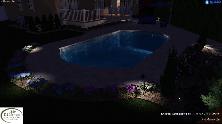 3D Rendered Landscape Design
